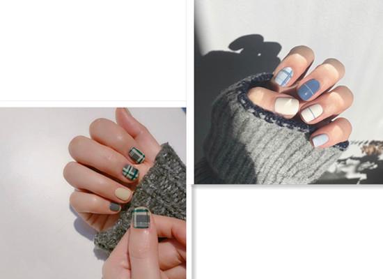 秋冬最流行的美甲款式安利 选择一款美美过新年吧!